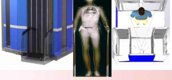 دستگاه تصویر برداری ایکس ری  از انسان