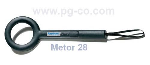 Handheld Metal Detector Rapiscan Model Metor 28